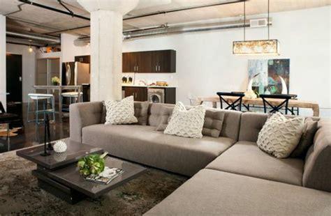 wohnung modern einrichten wohnzimmer warm einrichten