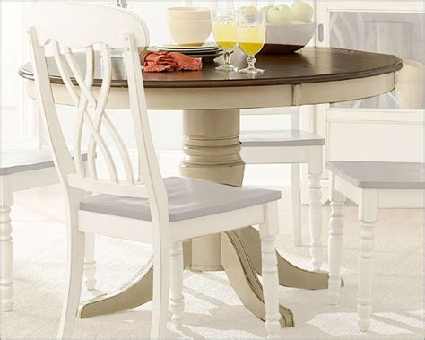 Ohana Dining Table Homelegance Dining Table Ohana In White Finish El1393w 48
