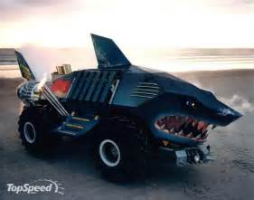 Wheels Shark Truck All Photos Gallery Strange Cars Vehicles