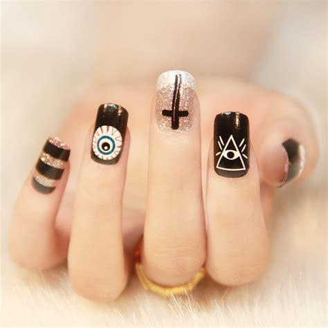 imagenes uñas decoradas en blanco y negro 30 dise 241 os para decorar tus u 241 as que debes lucir este oto 241 o