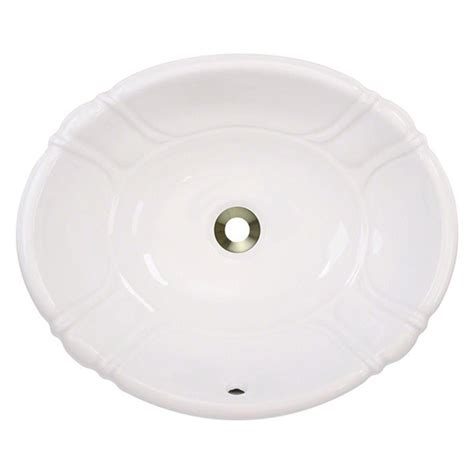 bisque bathroom sink polaris sinks dualmount porcelain bathroom sink in bisque