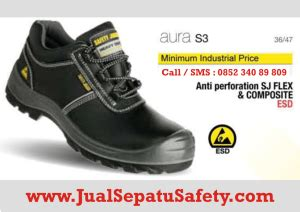Sepatu Pria Safety Touring Bikers Boots Original Hummer Pluto jual sepatu safety shoes jogger aura hp 0852 340 89 809
