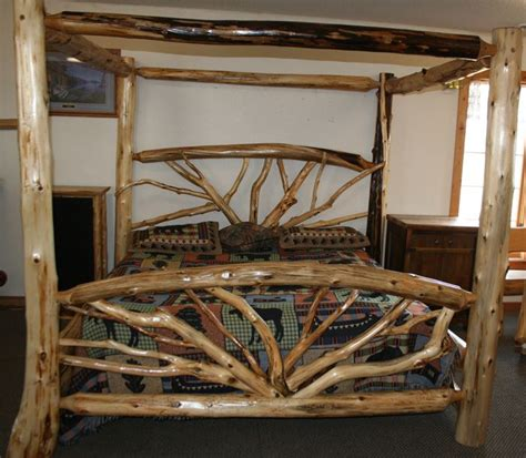 how to make a log bed best 20 log bed ideas on pinterest log bed frame log