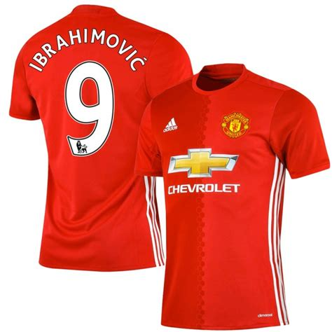 Jersey Manchester United 2016 2017 manchester united home ibrahimovic jersey 2016 2017 ps