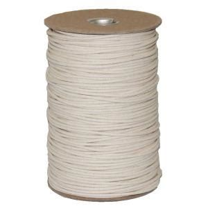 Cotton Rope Home Depot by T W Cordage 4 1 8 In X 600 Ft Duck Cotton Shade