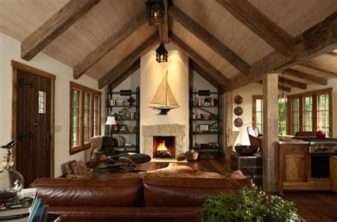 cabin living room ideas give your home a cozy cabin feel this winter