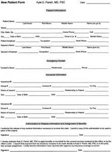 patient information form template new patient information form template go search