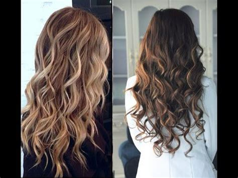 ways to curl your hair with a wand how to curl your hair without heat beauty pinterest