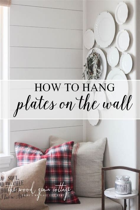 how to hang plates on the wall how to hang plates on the wall the wood grain cottage