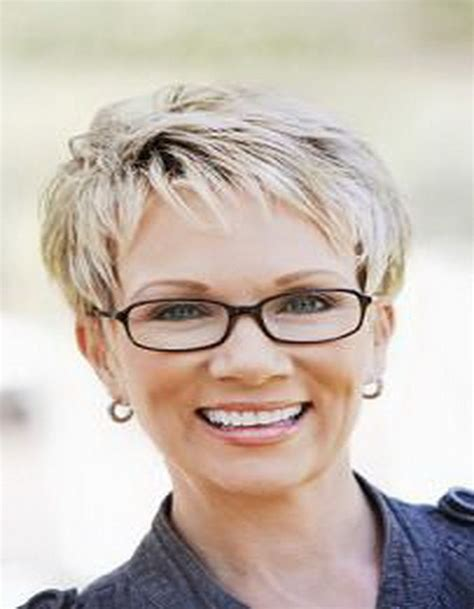 hairstyles glasses over 50 short hair styles for women over 50 with glasses my