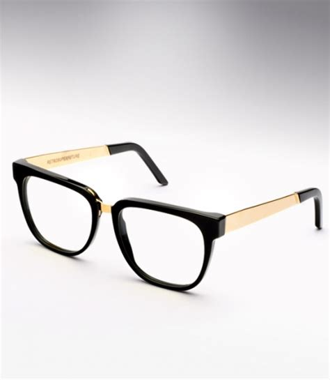 black gold metal m a eyeglasses on the hunt