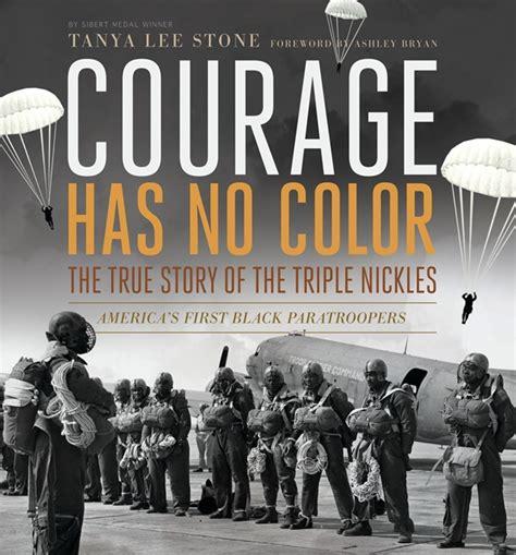 how to teach a novel courage has no color