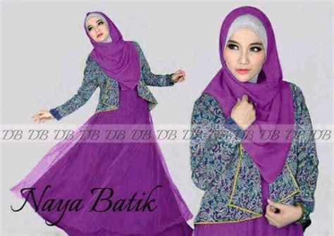 Baju Set Naya batik pesta modern naya p895