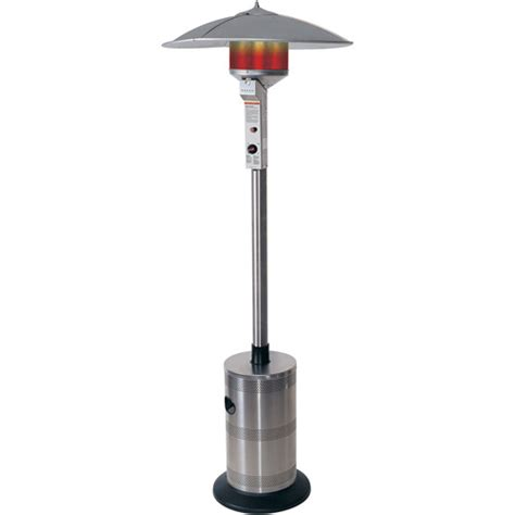 Patio Heater Walmart by Endless Summer Gas Outdoor Floor Patio Heater Stainless