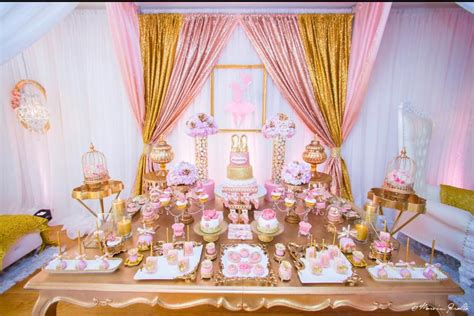 pink and gold baby shower table decorations pink blush baby shower baby shower ideas