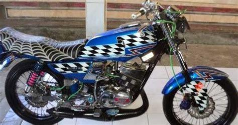 modifikasi chrom pada sepeda motor rx king 2001 pan lamun