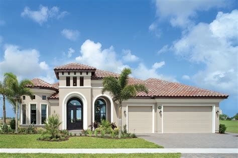 Plantation Style Homes by Coquina 1177 Mediterranean Exterior Tampa By