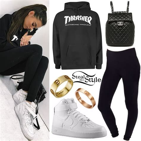 madison beer hoodie madison beer clothes outfits steal her style