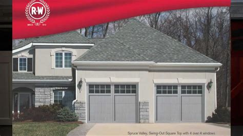 Wood Carriage House Garage Doors By Richards Wilcox Youtube Richard Wilcox Garage Doors