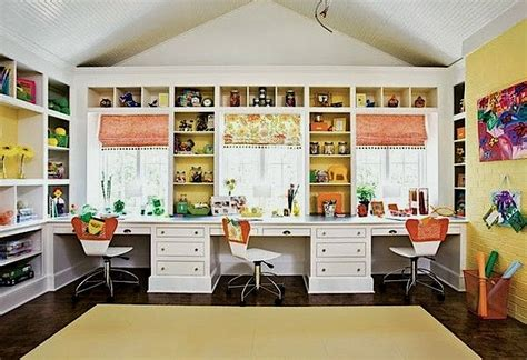 Home School Room Desk Ideas Use A Combination Of Open School Desk Organization Ideas