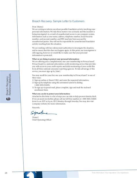 credit card breach incident response plan template data breach response guide whitepaper