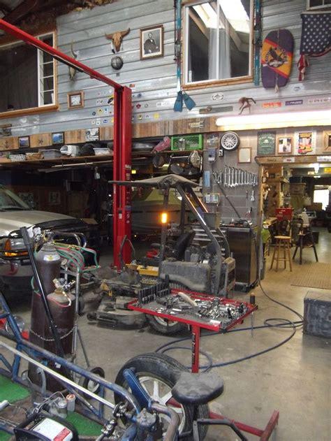 workspace ideas automotive shops garage workshop