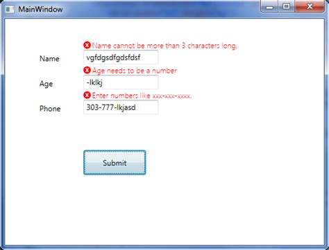 pattern validation phone number simple validation in wpf codeproject