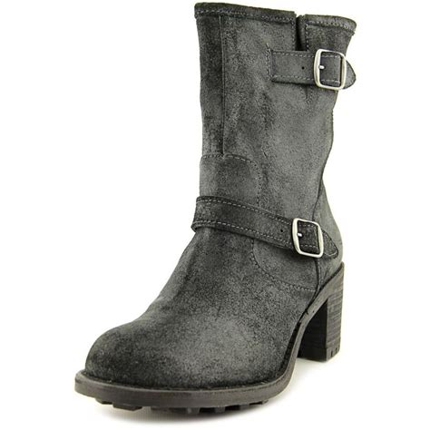 mid calf boots rocket edmond leather black mid calf boot boots