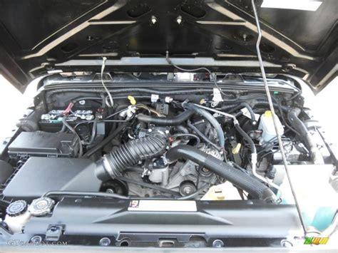 Jeep 3 8 Engine 2008 Jeep Wrangler Unlimited X 3 8 Liter Smpi Ohv 12 Valve