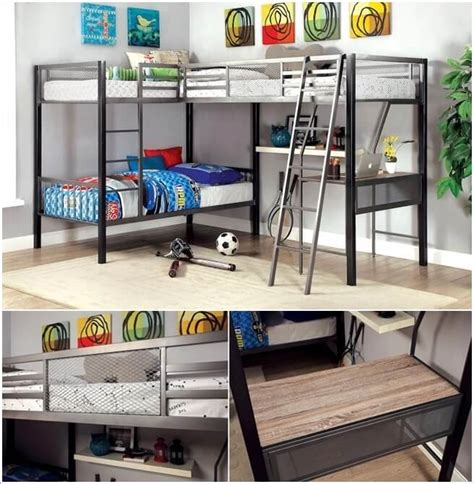 L Shaped Loft Bunk Beds 10 Wonderful L Shaped Bunk Bed Designs
