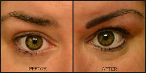 eyeliner tattoo before and after permanent makeup archives as the bunny hops