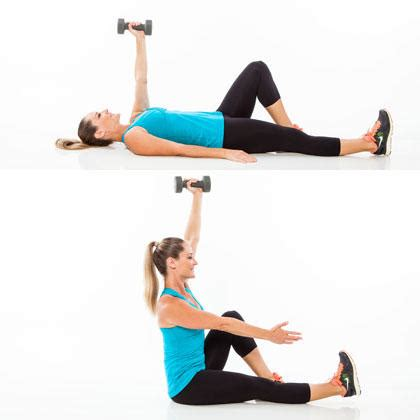 abs workout with weights for a rock solid stomach shape magazine