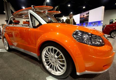 Bright Orange Car by Bright Orange Suzuki Concept Car Photos Jpg Hi Res 720p Hd