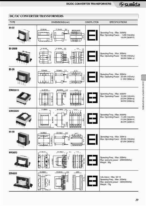 transformer datasheet pdf download