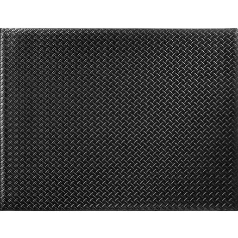 trafficmaster black 36 in x 48 in foam commercial door mat 60 169 0900 30000400 the home depot