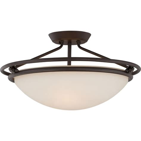 Western Ceiling Light Quoizel Qf1202swt Western Bronze Signature 3 Light 20 Quot Wide Semi Flush Ceiling Fixture With