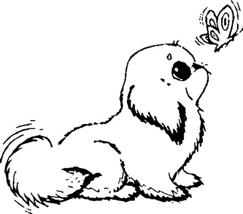 coloring pictures of dogs to print employ coloring pages for your children s creative time