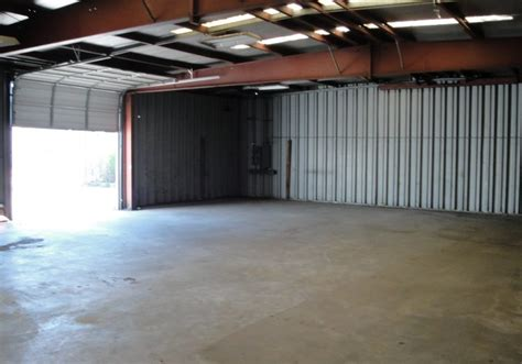 standing warehouse  office  fenced yard