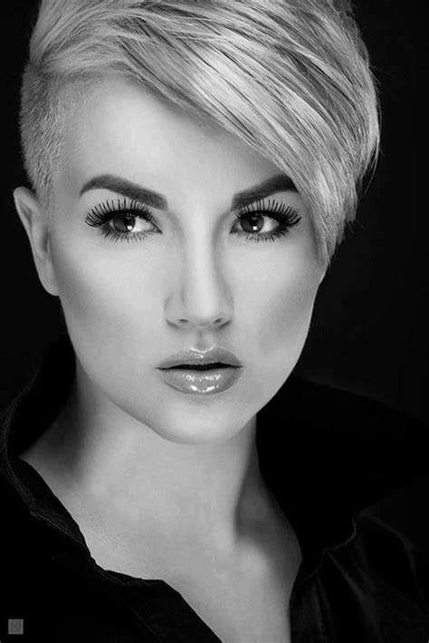 womans extremely short sides 15 short undercut hairstyles short hairstyles 2017