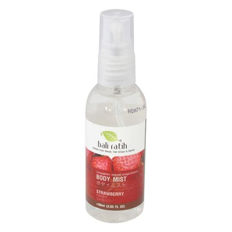 Parfum Mist Bali Ratih bali ratih mist strawberry 60ml gogobli