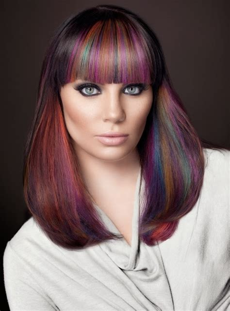 hairstyles and colors 2015 color punk and rock hairstyles for women wardrobelooks com