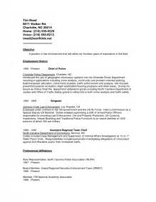 Enforcement Objective For Resume by Resume Objective For Enforcement Sles Of Resumes