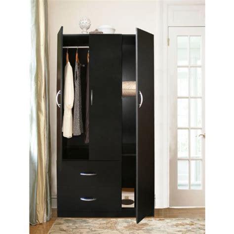 Home Source Industries Rln3224h Modern 3 Door Wardrobe And Home Source Industries Armoires And
