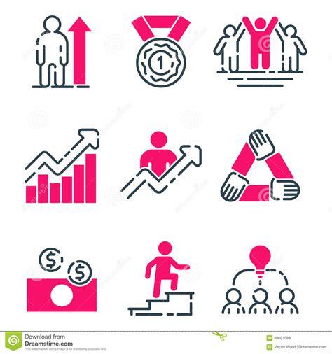 design management grow leadership chart vector illustration cartoondealer com