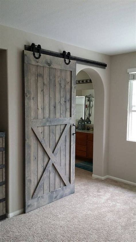 sliding bathroom door ideas best 25 barn door for bathroom ideas on pinterest