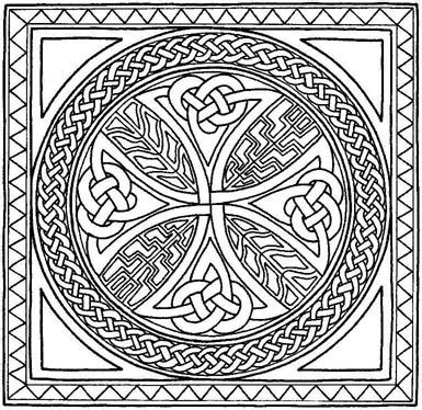 celtic mandala coloring pages free free printable celtic cross patterns