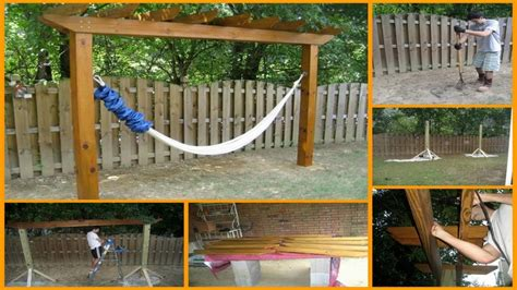 Yard Trellis Ideas 15 Diy Hammock Stand To Build This Summer Home And