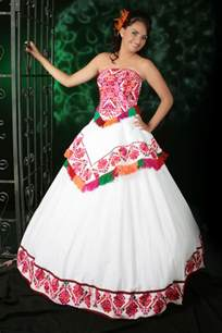 embroidered mexican wedding dress huasteca san luis potosi embroidered white with