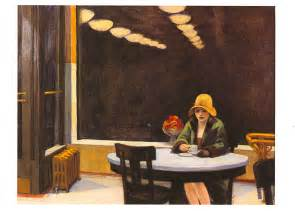 Auto Mat by Edward Hopper Word And Silence