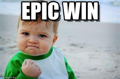 Win Kid Meme - epic win success kid original meme en memegen